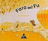 Fara und Fu, neue Rechtschreibung, Leseübungsheft mit Wort- und Buchstabenkarten.