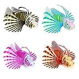Oggetti Decorazioni Acquario Pesce Finto Luminoso Silicone Colore Casuale
