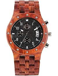 039960dbac4f Amazon.es  reloj madera - 50 - 100 EUR   Relojes de pulsera   Hombre ...