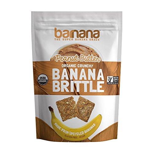 Barnana - burro di arachidi biologico a base di banana croccante croccante - 3.5 once