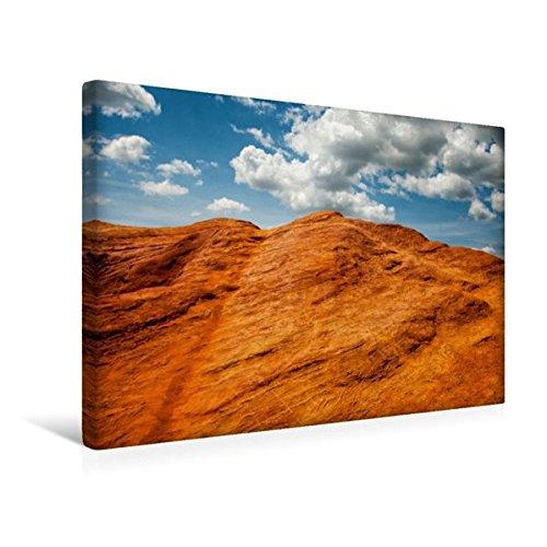 Calvendo Premium Textil-Leinwand 45 cm x 30 cm quer, Colorado von Rustrel | Wandbild, Bild auf Keilrahmen, Fertigbild auf echter Leinwand, Leinwanddruck Orte Orte