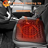 Koolertron Car Heated Seat Cushion Hot Cover Auto 12V Heat Heater Warmer Pad-winter