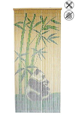 ABC Home Living Türvorhang   Insektenschutz   Fliegenschutz   Raumteiler Bambus Mehrfarbig 200 x 90 cm