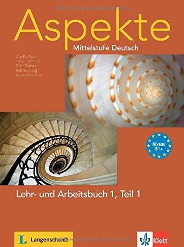 Aspekte in Halbbanden: Lehr- Und Arbeitsbuch 1 MIT Audio-CD Teil 1 by Ute Koithan (2009-12-02)