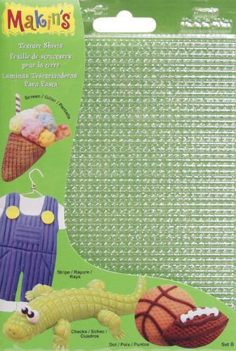 makins-usa-plastic-clay-texture-sheets-7-inch-x-55-inch-set-b-screen-stripe-check-and-dot