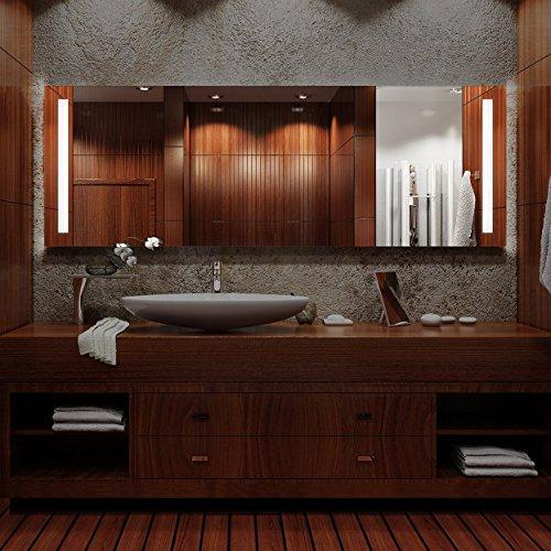 Arezzo - LED Badspiegel mit Beleuchtung - (B) 40 cm x (H) 60 cm