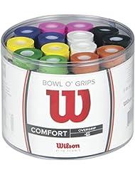 Wilson Lot de Surgrips, Bowl Overgrip, 50 pièces, Couleurs assorties, WRZ404300