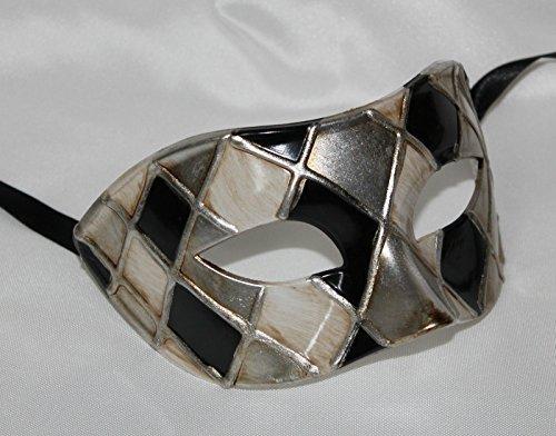 harlequin-noir-et-antique-argent-or-venitien-masque-de-mascarade-partie-des-yeux-masque-carnaval
