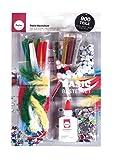 Rayher 69106000 Basic Bastelset, 900 Teile inkl. Bastelkleber, für Kinder, Kreativset im Vorteilspack, zum kreativen Basteln mit Mädchen und Buben