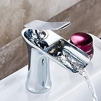 SBWYLT-Moderno cromato chiave-tipo singola bagno lavabo rubinetti monoforo cucina rubinetto in ottone