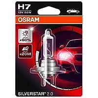 OSRAM SILVERSTAR 2.0 H7 Lampada alogena per proiettori 64150SV2-01B +60%