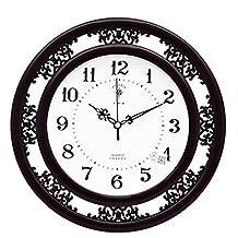Kklock - Reloj de pared silencioso para salón, oficina, dormitorio, cocina, habitación