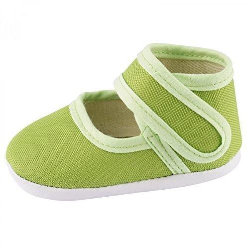 Scarpe per gattonare Baby scarpe per gattonare Babyschuhe Ragazze Ragazzi BS117 Verde