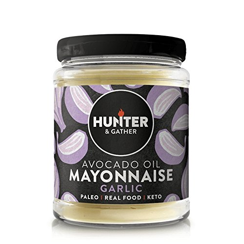 Hunter & Gather Paleo Mayonesa de Aguacate con Ajo sin Gluten y Azúcar 250g