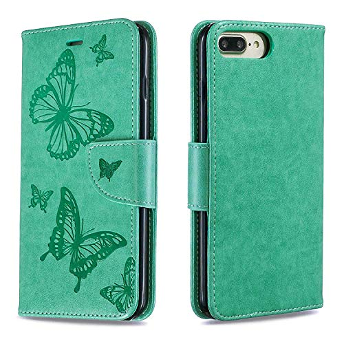 be8ddc9aa8e DENDICO Cover iPhone 7 Plus / 8 Plus, Custodia Portafoglio in Pelle ...