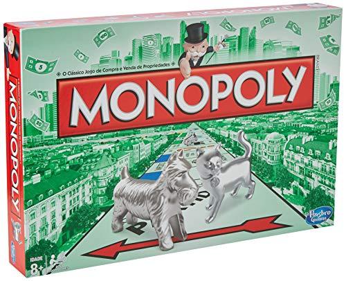 Monopoly Hasbro Gaming - Juego Mesa Clásico
