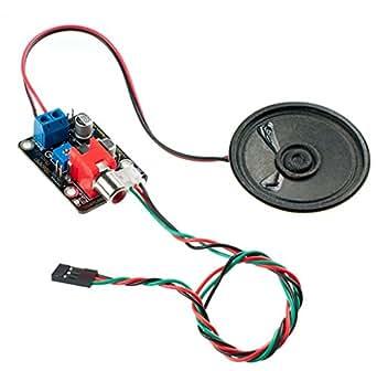 386Amp audio Amplifier Module (Arduino compatibile)/ideale per robot Voice uomo-macchina interazione e amplificazione del suono.