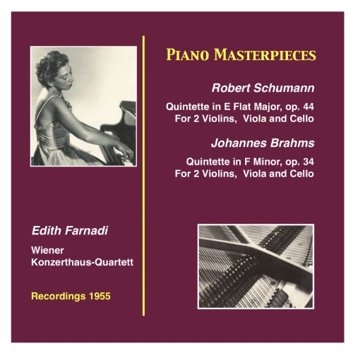 Piano Masterpieces: Edith Farnadi & Wiener Konzerthaus Quartett (Recorded 1955)