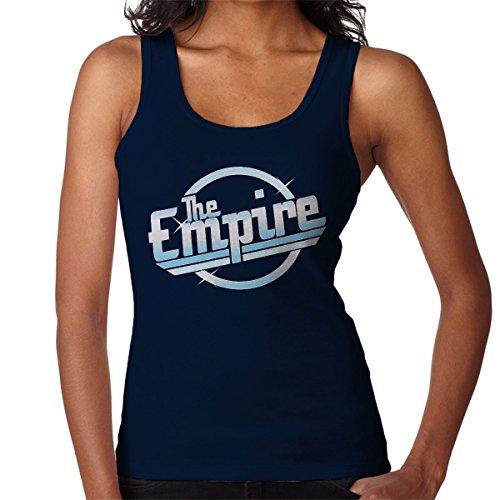 Star Wars Rogue One The Empire Strokes Logo Women's Vest Navy blue