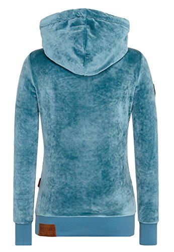 Naketano Female Hoody Darth Mack Dusty Blue