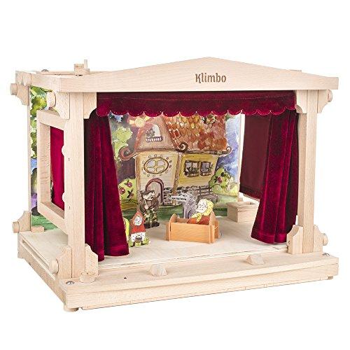 Klimbo Eco Toys 001 – Märchen-Theater aus Vollholz