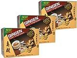 Gingen - Thai Ingwertee-Getränk mit Kandiszucker - je 12 Instant Sachets - 3er Pack (3 x 204g)