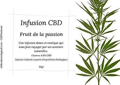 Infusion Fruit de la passion/Papaye Bio et Naturelle - 50gr - Extra