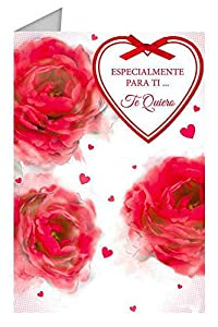 Grupo Erik Editores TF0171 - Tarjeta de felicitación, 11 x 16 cm, diseño Especialmente Para Ti...Te Quiero