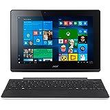 """Acer Switch 10E PC Portable 2-en-1 Tactile 10"""" Blanc (Intel Atom, 2 Go de RAM, SSD 32 Go + Disque Dur 500 Go, Windows 10 Home)"""