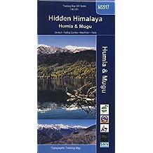 Carte de randonnée NS 517 Hidden himalaya, Nepal de l'oues humla & Mugu 1:90:000