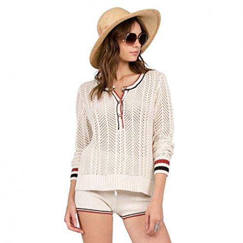 Thumbs Up Henley Sweatshirt vintage whit Größe: M Farbe: vintage-wh (Volcom-vintage-pullover)