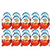 12 X Kinder JOY Surprise Eggs, Ferrero Kinder Choclate Best Gift Toys, for BOY by unbranded