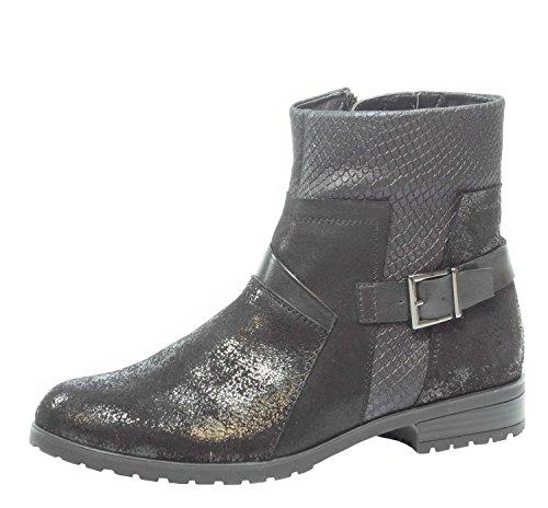 Donna Boots 37 37,5 38 38,5 39 40 40,5 pelle Caprice nera 9-25353-019 schwarz