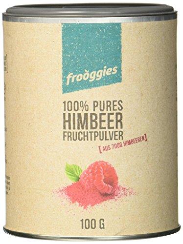frooggies Fruchtpulver Himbeere, 100 g