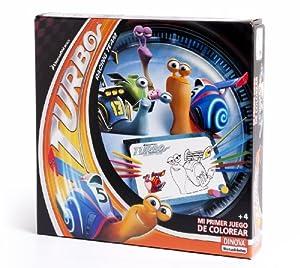 DreamWorks - Turbo, mi primer juego de colorear (Dinova D0555001)