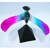 kimberleystore Rotate Stand Pyramid Balancing Eagle Education Brain Toy for Kids Baby -Random