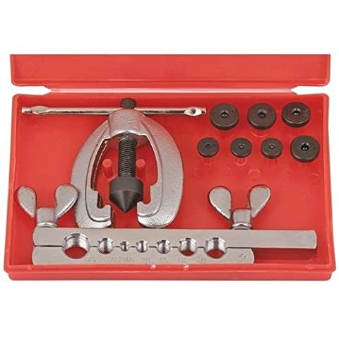 PIPE FLARING TOOL KIT - 10 PIECES