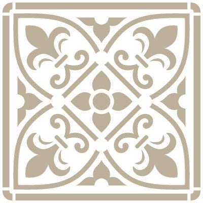 stencil-mini-decoration-fond-079-carrelage-iberia-13-stencil-taille-12-x-12-cm-design-taille-95-x-95