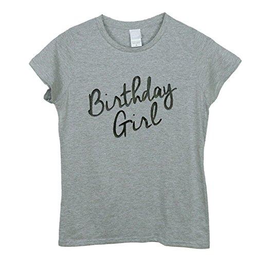 Handmade Frau Mädchen Geburtstag T-Shirt Damen O-Neck T-Shirt Geschenk