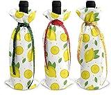 Perilla Fire Endless Lemonade 6 3 x Weinflaschenhülle mit Weihnachtsmotiv