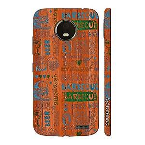 Enthopia Designer Hardshell Case Barbeque Nation Back Cover for Motorola Moto E4