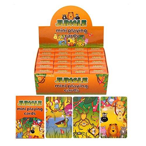 re Mottoparty Mini Spielkarten-24x Packungen ()