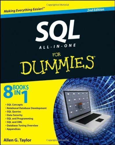 SQL All-in-One For Dummies by Taylor, Allen G. 2nd (second) Edition (2011)
