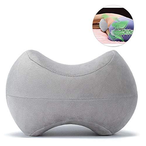 Mogoi - cuscino per gambe contour legacy, in memory foam, per schiena, fianchi, gambe e ginocchia, cuscino per ginocchio per alleviare la sciatica, dolore alla schiena, dolore alle gambe, gravidanza