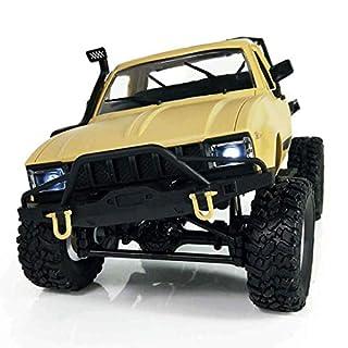 Fernbedienung RC Auto Off Road Rock Fahrzeug 1:16 Bergsteiger LKW 2WD High Speed 2,4 GHz Funkfernsteuerung Rennwagen, elektrische schnelle Buggy Hobby Auto Spielzeug Geschenk für Kinder
