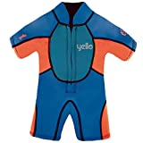 Yello Boys 'acolchado bebé Traje UPF 50Plus Wet Suit, Niños, Puffer Infant Shorty UPF 50 Plus,...