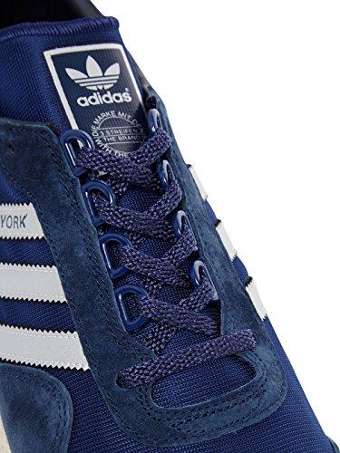 adidas Originals New York, granite-clear grey-clear brown Blu/Argento