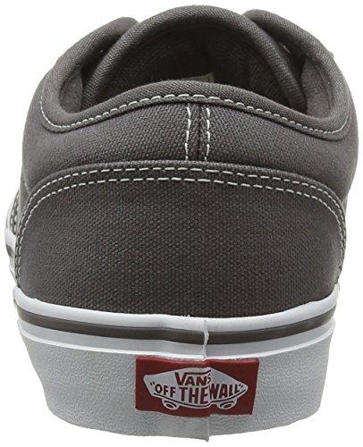 Vans Herren Atwood Sneaker Grau (Contrast Stitch pewter/white)