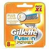 Ancienne Version/Gillette Fusion Power Lames De Rasoir Pour Homme - 8Recharges