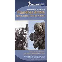 Les champs de bataille Flandres Artois Michelin